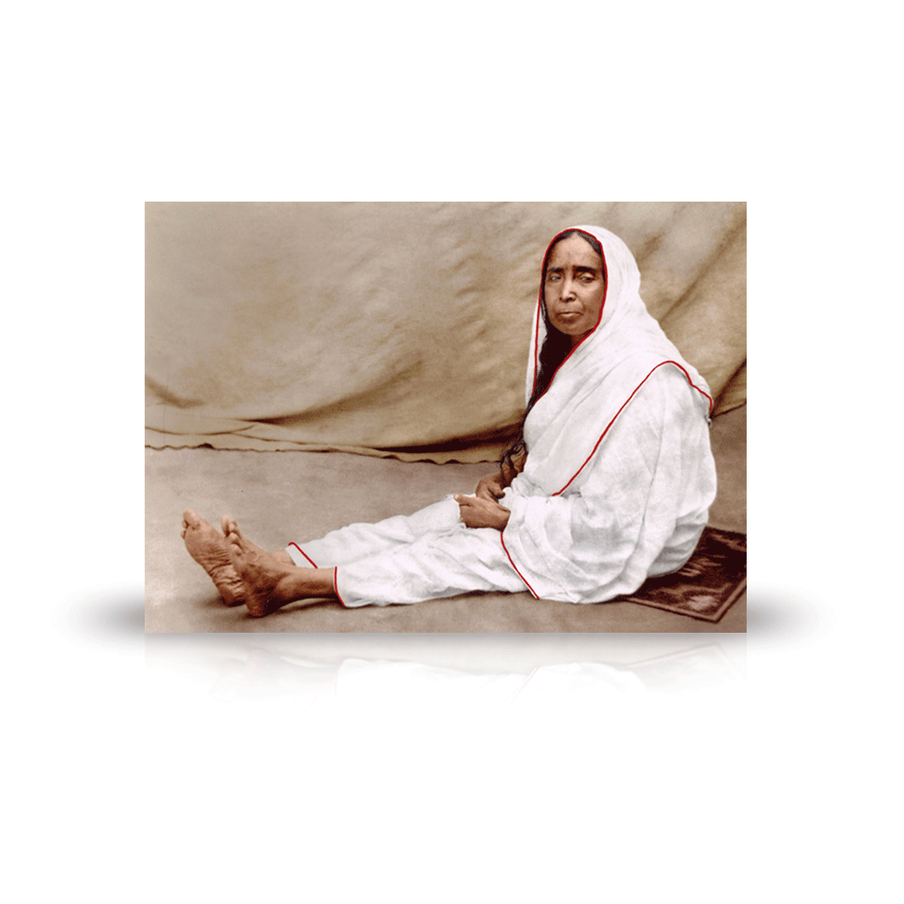 Sri Sarada Devi As Annapurna 5x7 Kali Mandir In Laguna Beach